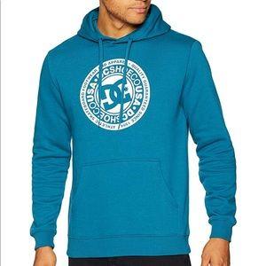 Men's DC shoe pullover hoodie sweater fleece